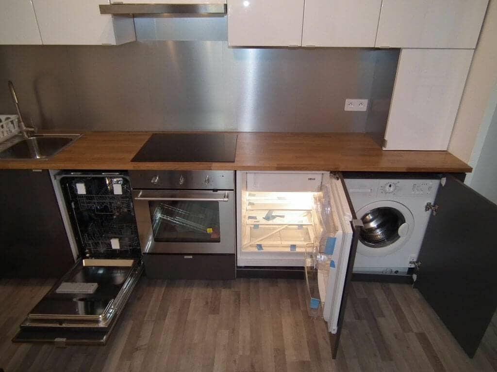 location appartement charenton 94: 2 pièces 32 m², cuisine américaine aménagée et équipée