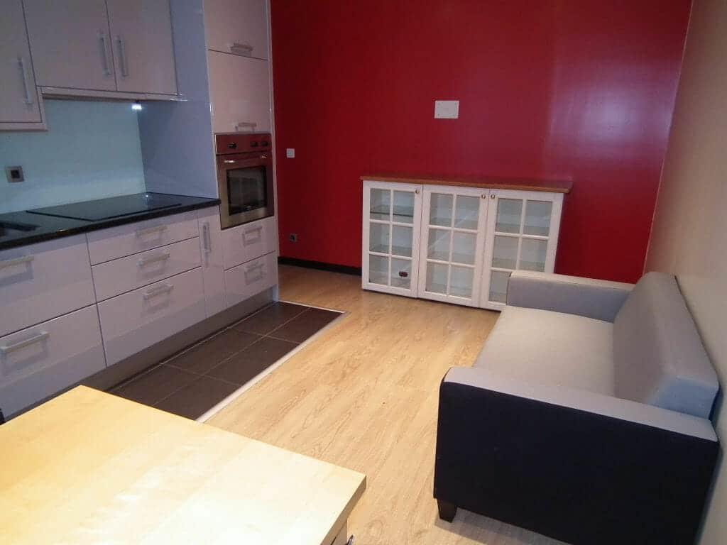 location appartement charenton le pont: 2 pièces 36 m², séjour avec cuisine ouverte équipée