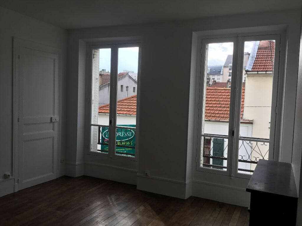 l adresse alfortville: 2 pièces 50 m², séjour lumineux, 2 fenêtres, parquet au sol