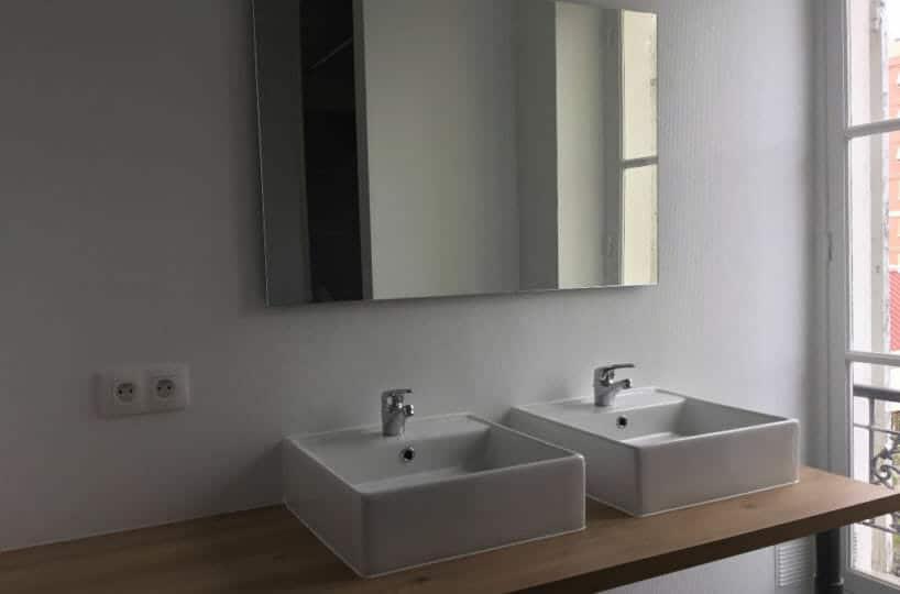 valerie immobilier alfortville: appartement 2 pièces 50 m², salle d'eau, double vasque