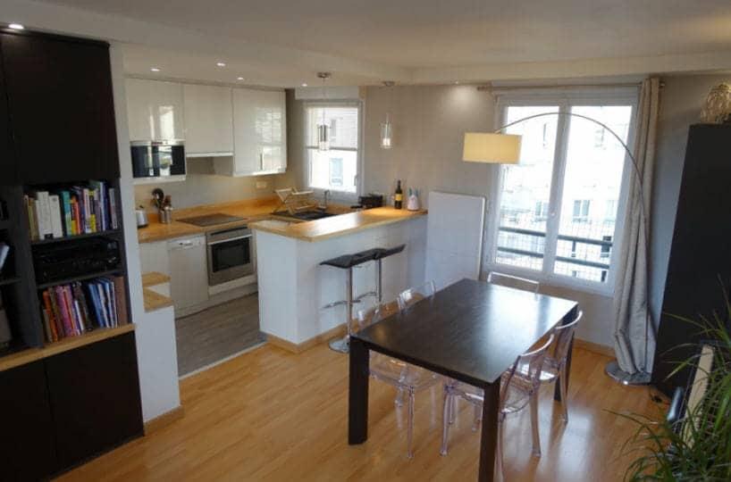 agence immobilière alfortville: appartement 3 pièces 64 m² meublé avec terrasse, parking, proche de la mairie et du rer d