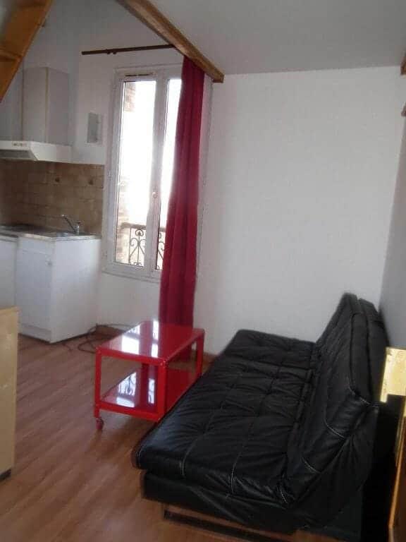 agence immobiliere 94 - appartement arcueil studio 16.89 m² - 21m² au sol meublé mezzanine - annonce G366-4 - photo Im01