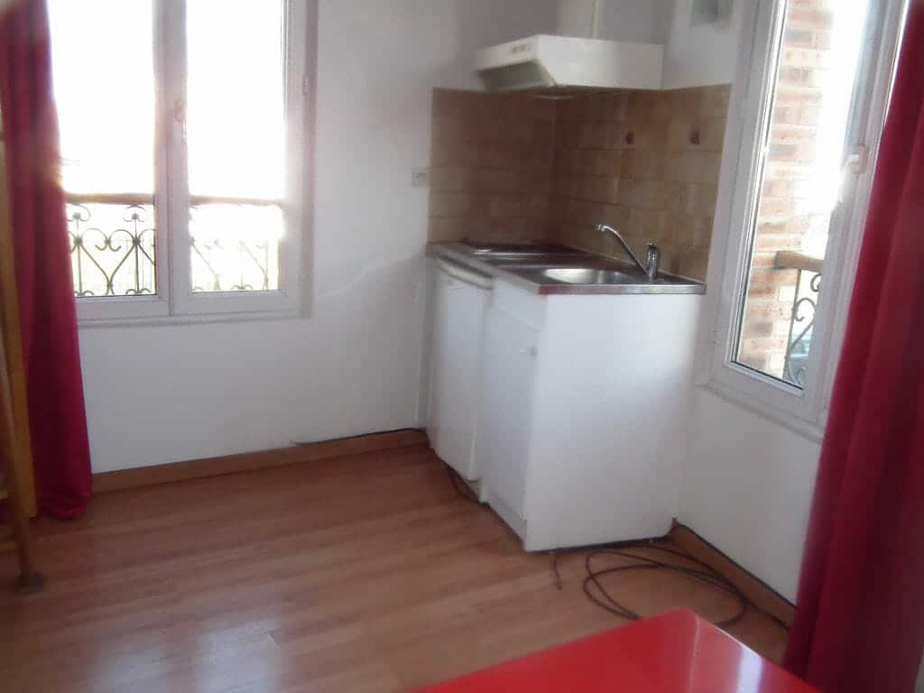 agence immobiliere 94 - appartement arcueil studio 16.89 m² - 21m² au sol meublé mezzanine - annonce G366-4 - photo Im02