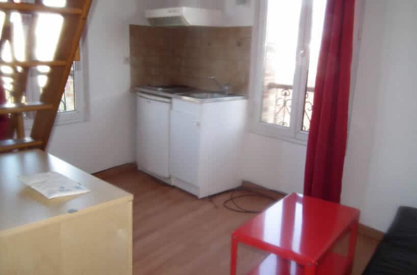 laforêt immobilier - appartement arcueil studio 16.89 m² - 21m² au sol meublé mezzanine - annonce G366-4 - photo Im06