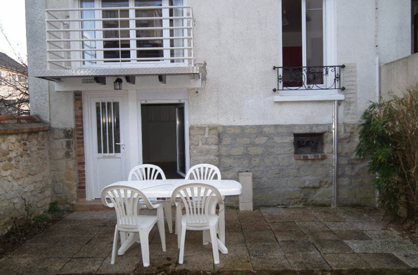location appartement 94: alfortville, appartement 2 pièces 31 m², 44 m² de surface totale, accès jardin