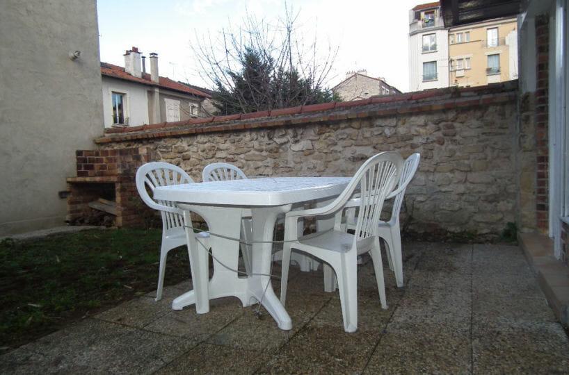 immobilier alfortville: appartement 2 pièces 31 m², terrasse avec jardin
