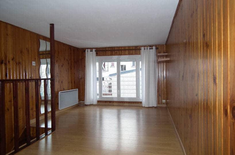 agence immobilière val de marne: alfortville, 2 pièces 31 m², chambre en mezzanine