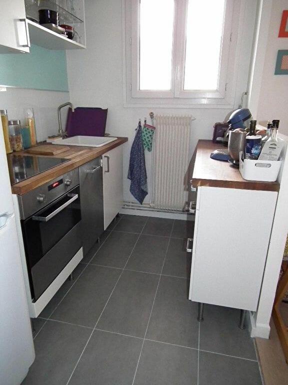 appartement alfortville: 3 pièces 55 m² à louer, cuisine quipée aménagée ouverte