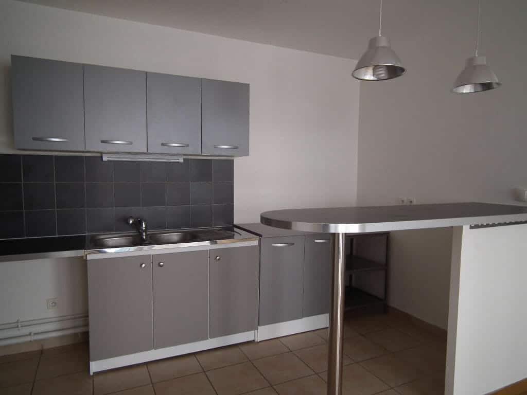 appartement a louer alfortville: 3 pièces 55 m², coin cuisine américaine aménagée