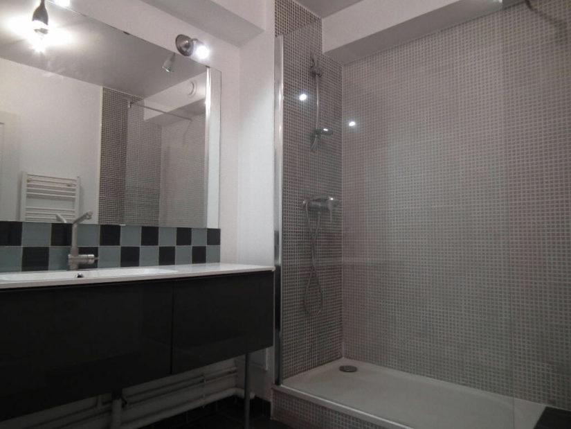 louer appartement alfortville: 3 pièces 55m², salle de bain, baignoire et rangements