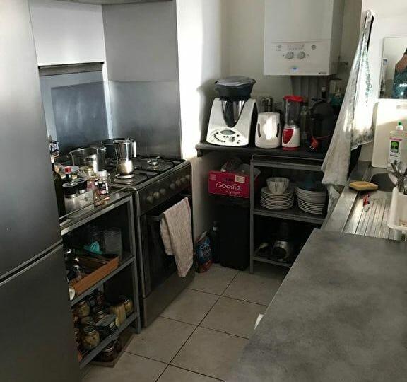 louer appartement à alfortville: 2 pièces 45 m², cuisine ouverte sur séjour