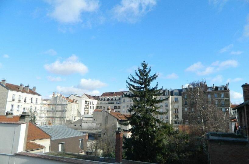 location appartement val de marne: 2 pièces 43 m² avec vue jardin à maisons-alfort