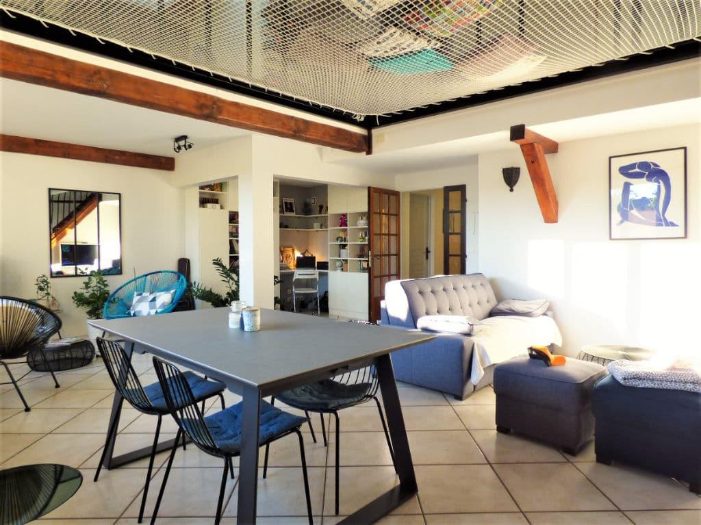 logement maisons alfort: maison 5 pièces 102 m², très spacieuse pièce à vivre