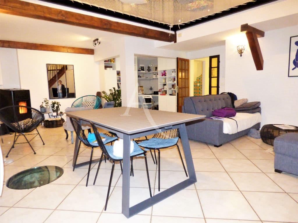 agence immobilière maisons-alfort - vend 5 pièces 102 m², vaste séjour avec accès terrasse