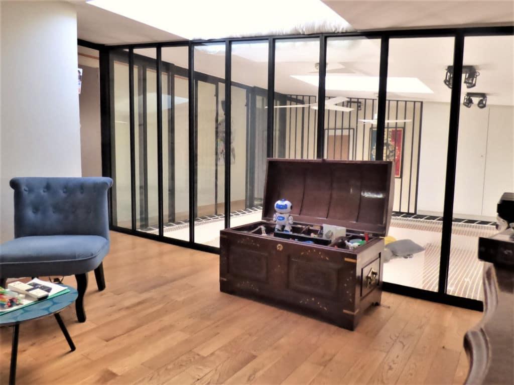 direct immobilier maisons alfort: maison 5 pièces 102 m², salle de détente à l'étgae