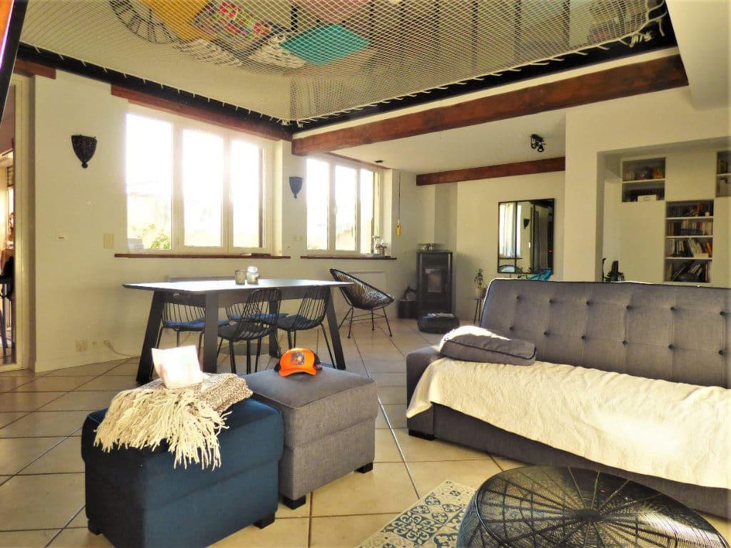 maisons à vendre maisons alfort centre: maison 5 pièces 102 m², grande pièce à vivre avec accès terrasse