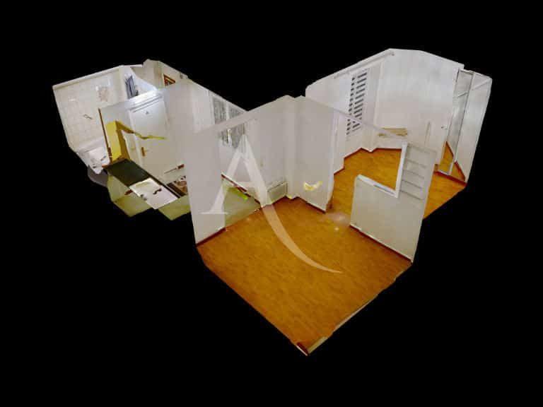 l adresse immobilier: appartement 2 pièces 28 m², plan détaillé de l'appartement