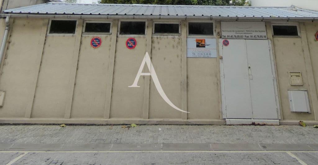 agence immobilière maison alfort: local professionnel 60 m² à côté des bords de marne
