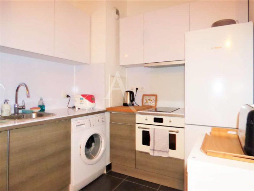 location maisons alfort:  2 pièces 42 m², cuisine équipée: machine à laver, four, plaque