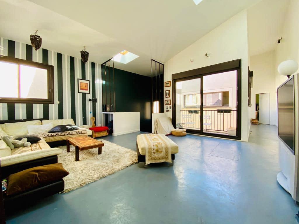agence immobilière maisons-alfort: vente maison 190 m² , ancien atelier transformé en loft