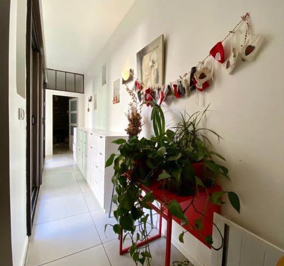 maison maison alfort- 190 m², 6 pièces - couloir d'accès aux chambres