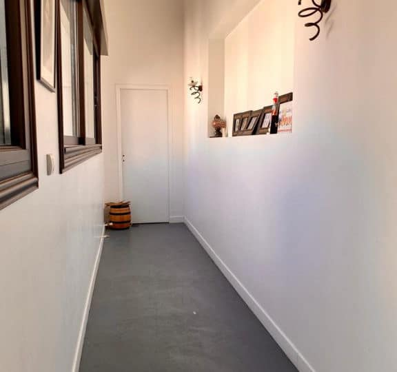a vendre maisons alfort - 190 m²grand couloir d'accès à l'entrée