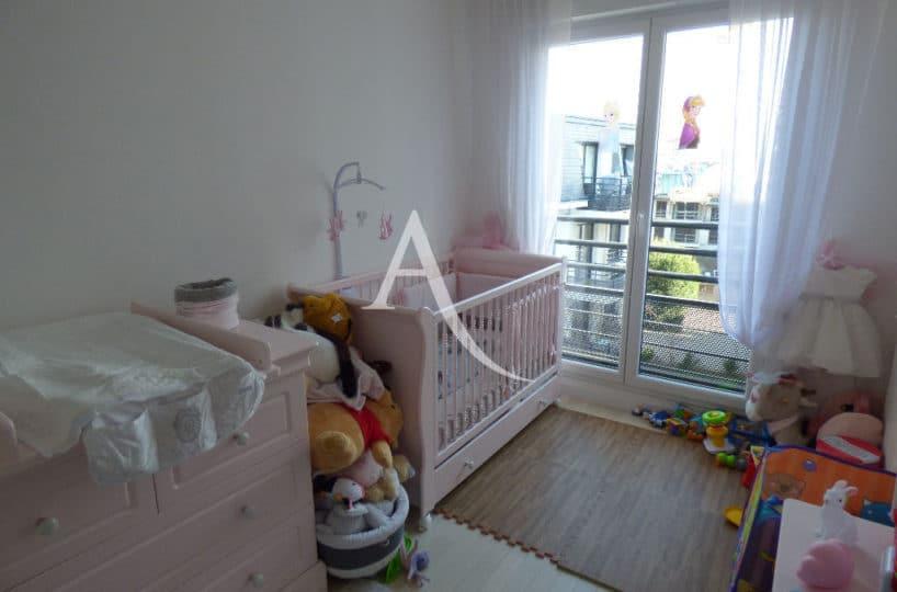 immobilier maisons-alfort: appartement à vendre 3 pièces 68 m² - ref.3107, seconde chambre à coucher avec balconIm07