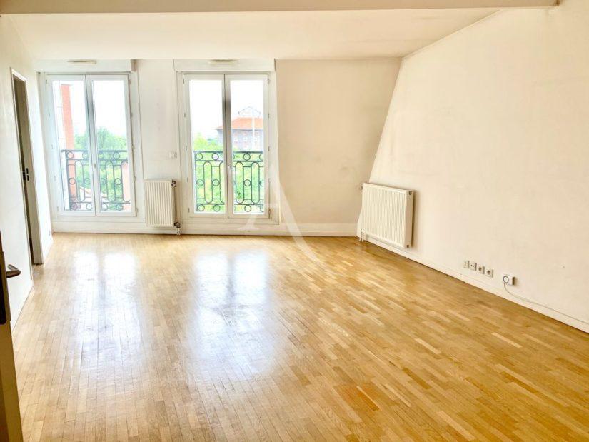 appartement à vendre maisons-alfort: 4 pièces 84 m², vaste séjour de 29 m², secteur victor hugo, proche métro