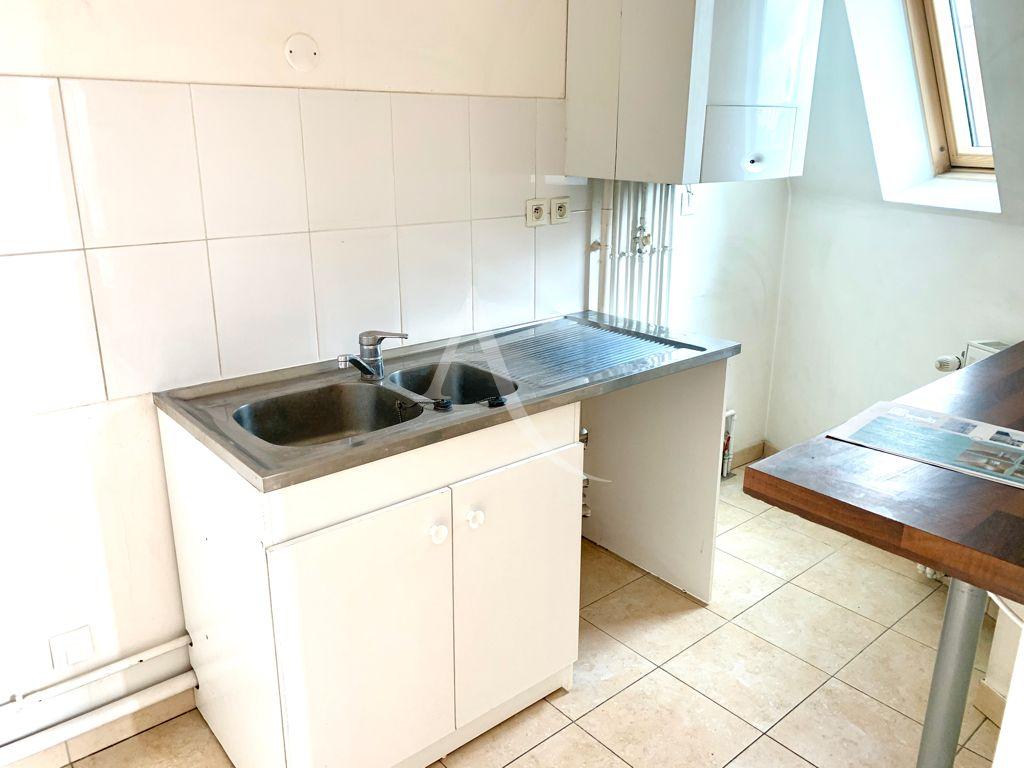 vente appartement maison alfort: 4 pièces 84 m², cuisine indépendante avec vélux