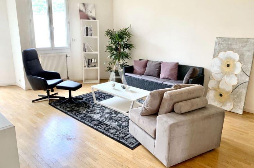 maison alfort appartement a vendre, 4 pièces 84 m² - aperçu séjour 28 m²