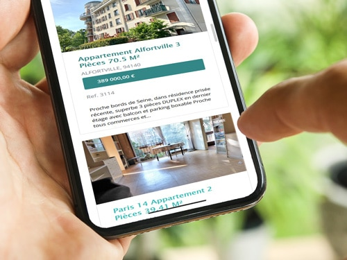 Valérie Immobilier diffuse largement votre annonce sur Internet