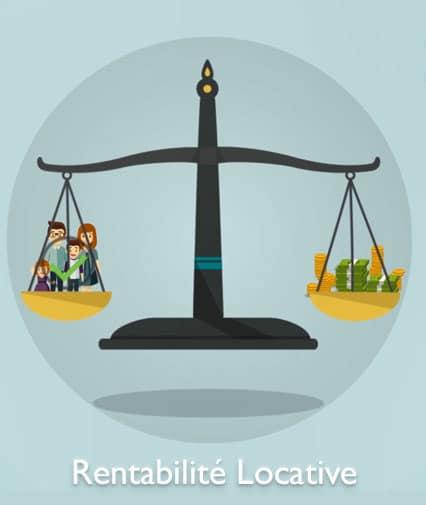 Valorisation par évaluation de la rentabilité locative du bien