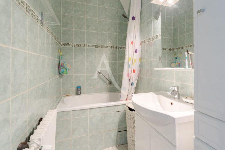 vente appartement maison alfort: 3 pièces 53 m², salle de bain avec baignoire, wc séparé