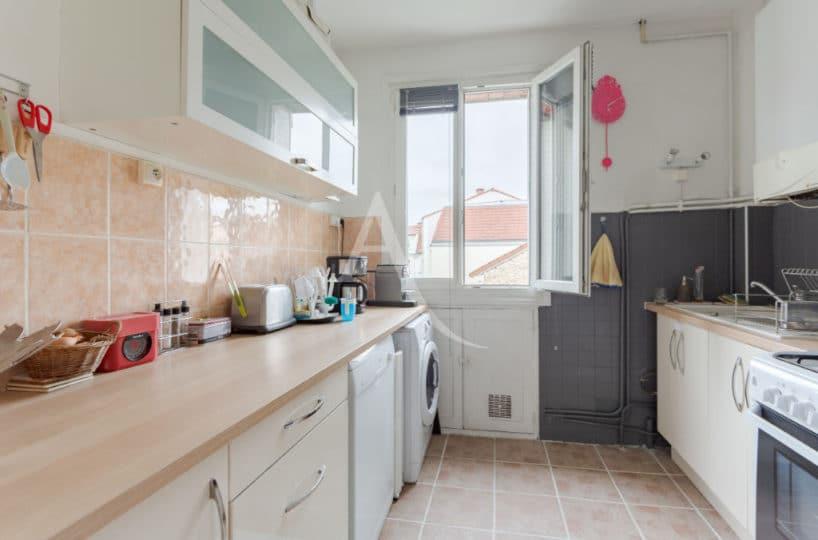 vendre appartement maisons-alfort: 3 pièces 53 m², cuisine aménagée et équipée