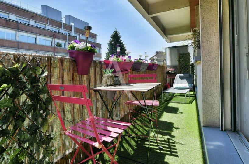 location appartement maisons alfort, 2 pièces 37 m², la terrasse accès séjour