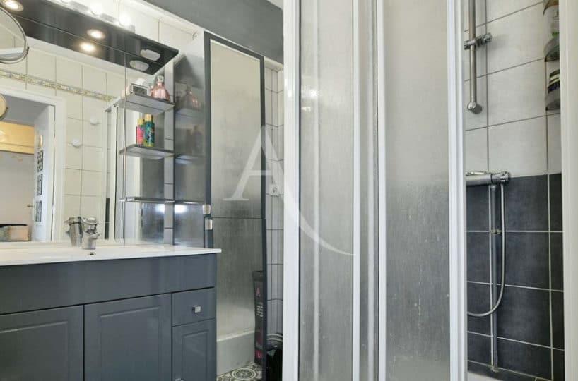 appartement à louer maisons alfort: 2 pièces 37 m² + terrasse, salle d'eau avec douche italienne