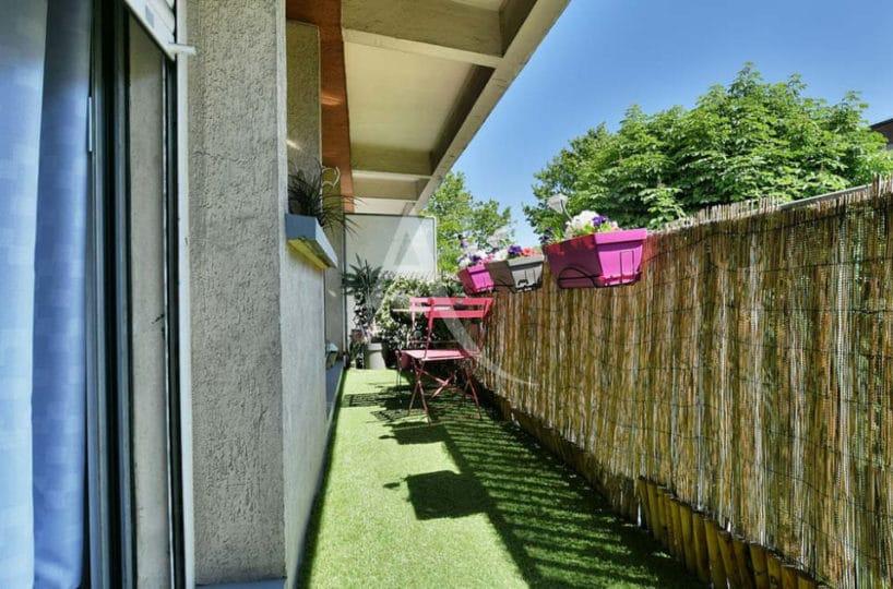 agence immo maisons-alfort: 2 pièces 37 m² + terrasse, grand balcon accès séjour et chambre
