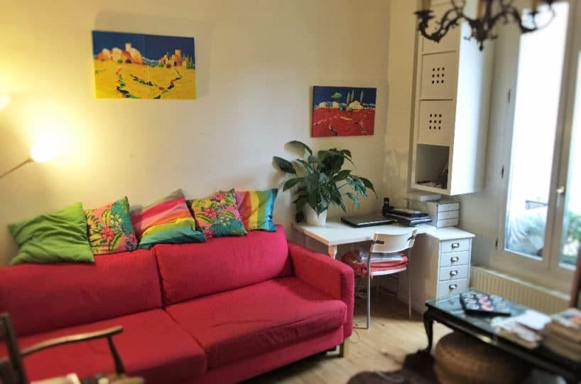 agence immobilière maisons-alfort:  3 pièces 52 m², pièce à vivre, parquet en chêne massif