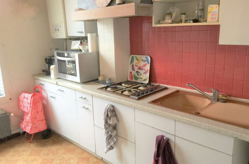 immobilier maison alfort: appartement 3 pièces, cuisine aménagée  avec plaques électrique