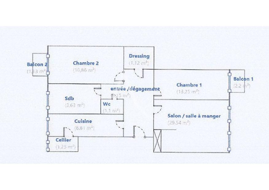 l adresse alfortville: appartement centre 3/4 pièces 75 m² - à vendre