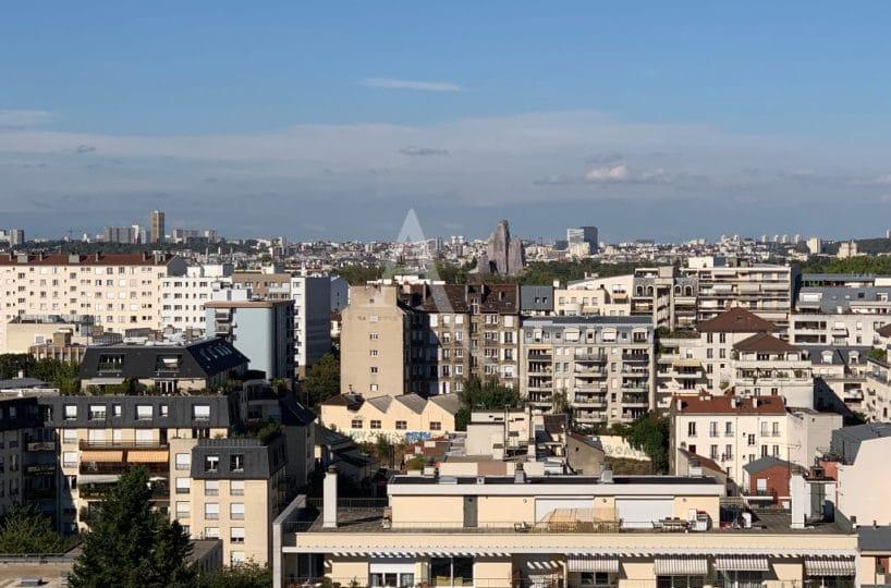 agence immobilière 94 - appartement 4 pièces 84 m², vue panoramique sur Vincennes et Paris