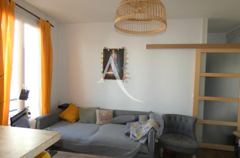 agence immobiliere alfortville: appartement 2 pièces 30 m², spacieux séjour clair et calme