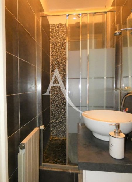appartement alfortville: appartement 2 pièces 30 m² meublé, grand canapé / lit dans le séjour