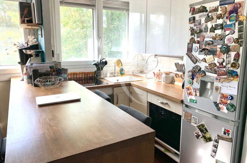 vente direct immo: appartement 3 pièces 49 m²,  cuisine aménagée et équipée (four et lave-vaisselle)