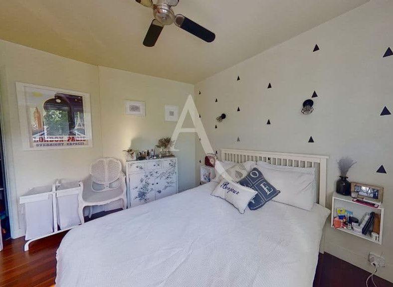 achat appartement saint maurice plateau: appartement 3 pièces 49 m², première chambre avec lit double