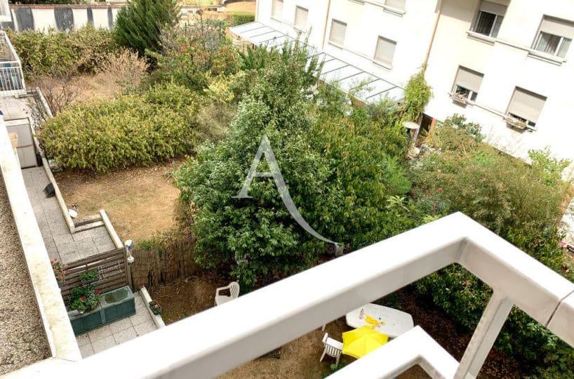 immobilier 94 - appartement ivry sur seine 2 pièces 43 m² - aperçu des espaces verts de la résidence