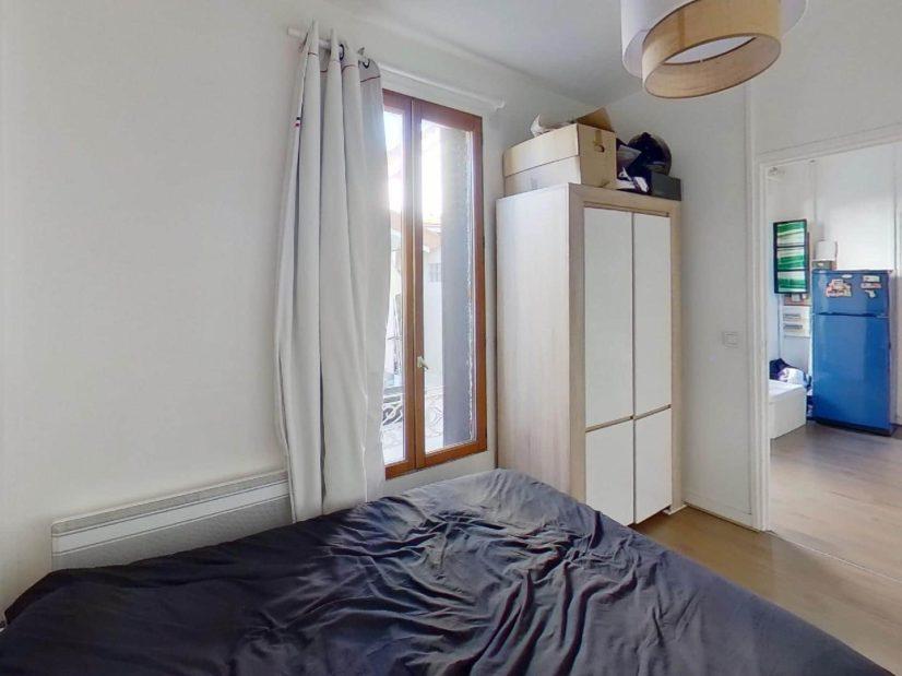 agence immobilière val de marne: maison 3 pièces, chambre à coucher au rez de chaussez