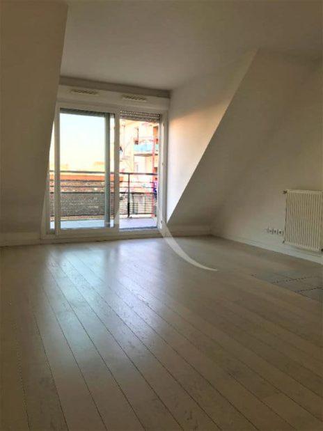 agence immo alfortville: appartement 3 pièces 62 m² au 3° étage, grand séjour avec balcon