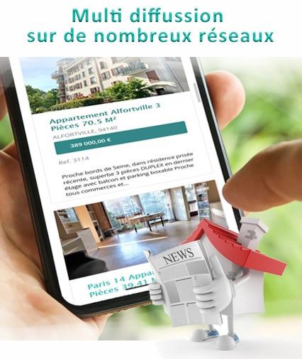 Valérie Immobilier propose des services exclusifs pour vendre plus vite et mieux - Multidiffusion