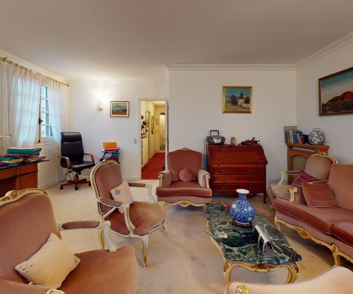 immobilier alfortville: maison 7 pièces, pièce de vie, 3 belles fenêtres, haut plafond